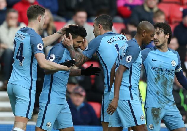 Manchester City, como visita, logra cómodo triunfo — Premier