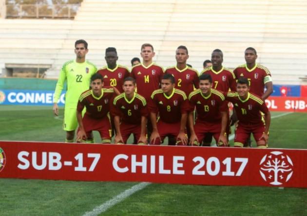 Vinotinto sub-17 se quedó a un paso de asistir al Mundial