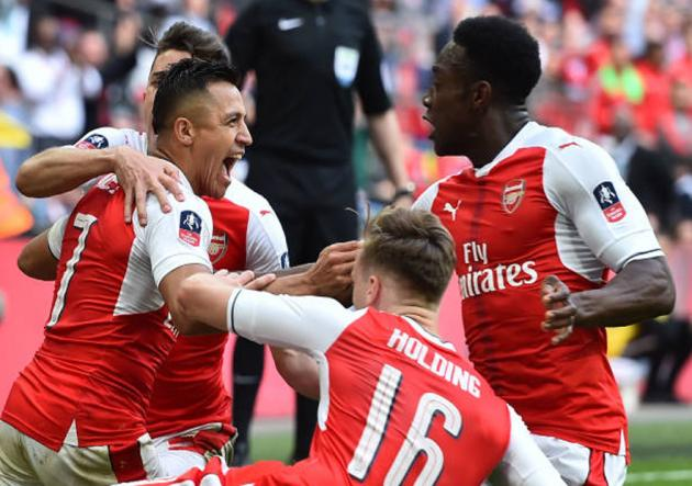 Arsenal eliminó al City y jugará final de la FA Cup