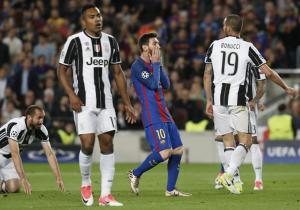 Barcelona_Juventus_Champions_2017_Getty_Messi_Lamento