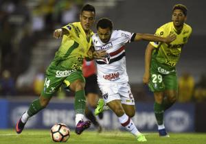 DefensayJusticia_SaoPaulo_Sudamericana_2017_Getty