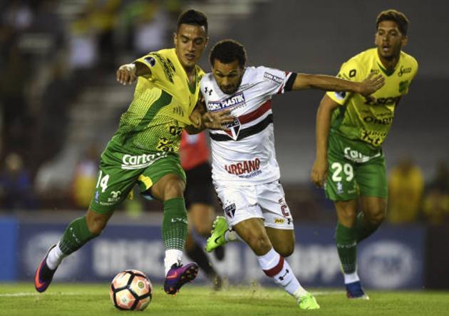 DefensayJusticia_SaoPaulo_Sudamericana_2017_Getty