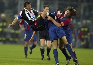 DelPiero_Puyol_Juventus_Barcelona_ChampionsLeague_2003_Getty