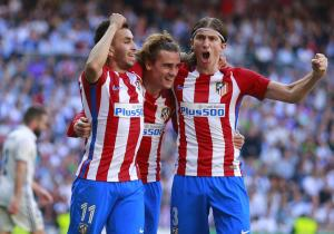 Festejo_Griezmann_Real Madrid_Atletico de Madrid_2017_getty