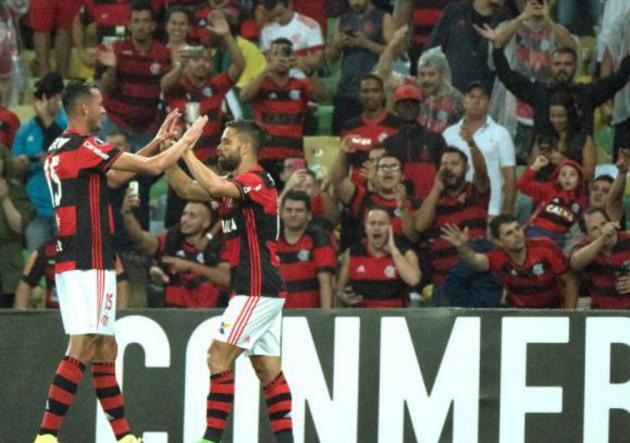 Flamengo_Celebra_Paranaense_Copa_Libertadores_2017_Getty