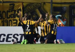 Guarani_Celebra_Zamora_Copa_Libertadores_2017_Getty