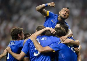 Juventus_Vidal_Celebra_RealMadrid_2015_Getty