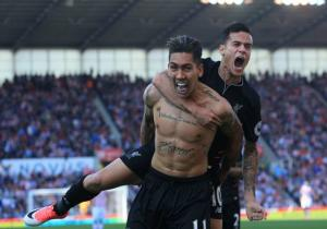 Liverpool_celebra_Stoke_Firmino_Coutinho_Premier_Getty_2017