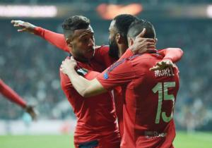 Lyon_Celebra_Besiktas_Europa_League_2017_Getty