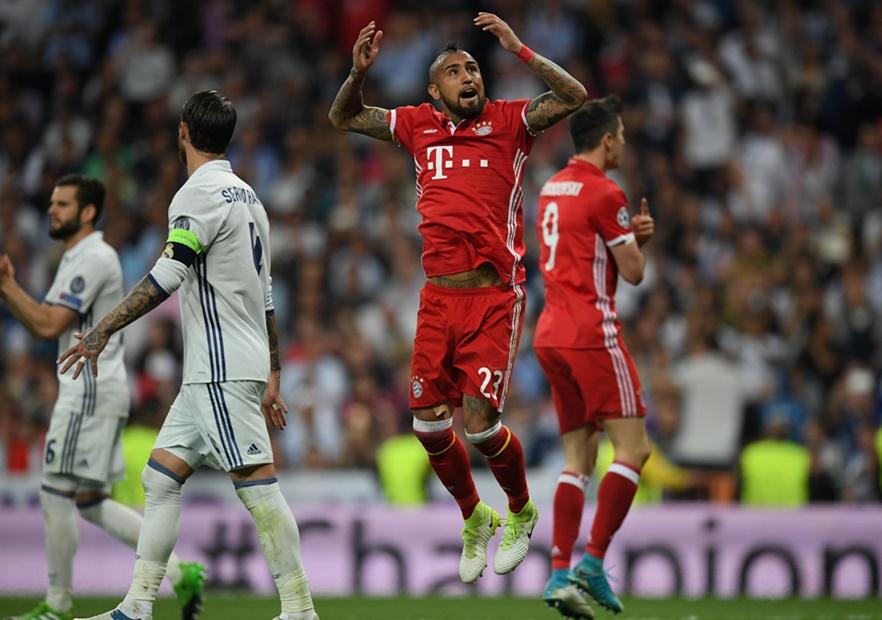 RealMadrid_Bayern_Champions_2017_Vidal_Celebra_Getty
