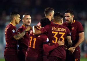 Roma_Celebra_Pescara_SerieA_2017_Getty