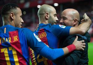 Sampaoli_Mascherano_Neymar_Barcelona_Getty