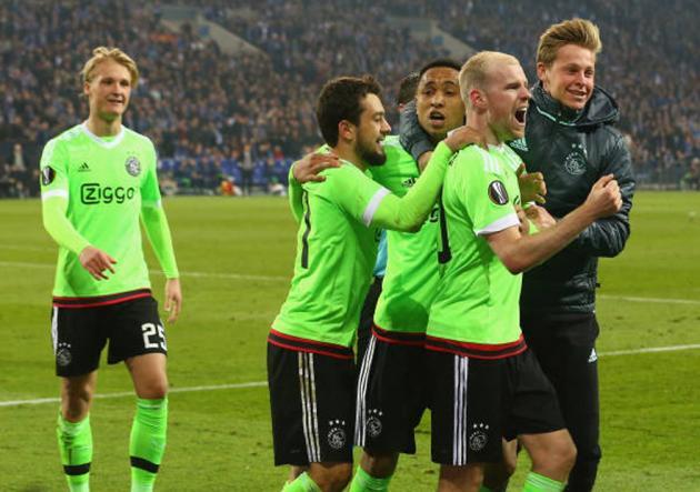 Schalke_Ajax_Europa_League_2017_Getty