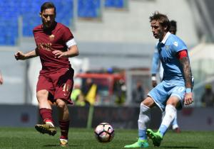 Totti_Roma_Lazio_derbi_clasico_2017_getty