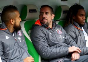 Vidal_Ribery_banca_Bayern_2017_getty