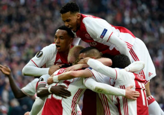 Ajax_Celebra_Lyon_Europa_League_2017