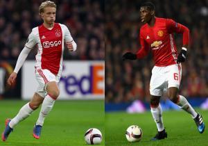 Ajax_Manchester_United_final_2017_Dolberg_Pogba