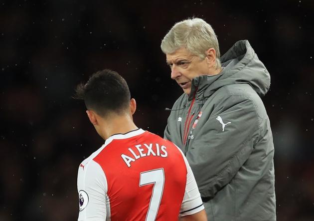 Arsenal_Sunderland_Alexis_Wenger_GEtty