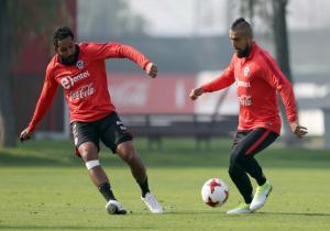 Entrenamiento_Chile_dia2_Vidal_Beausejour_ANFP