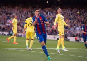 Luis_Suarez_BArcelona_Villarreal_Liga_2017_Getty