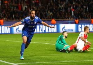Monaco_Juventus_Higuain_celebra_Champions_2017_Getty
