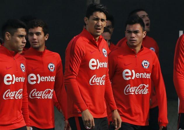 Se pierde la Copa: Felipe Mora fue liberado de la Roja