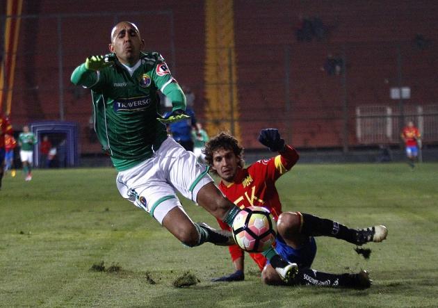 Union Espanola vs Audax Italiano, campeonato de Clausura 2016 - 2017.