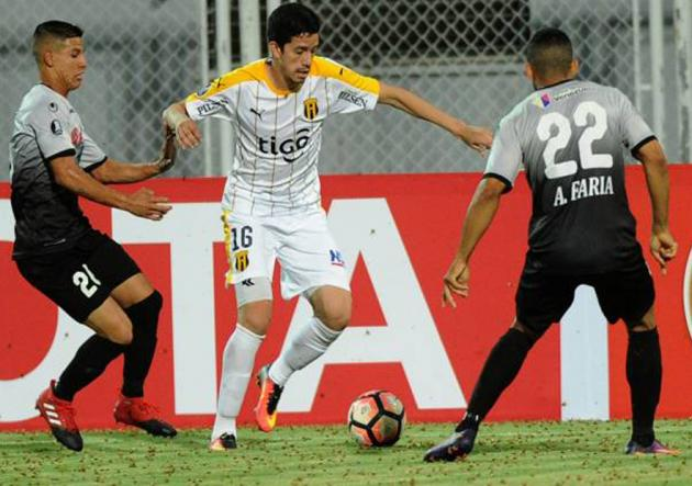 Zamora_Guarani_Libertadores_2017_Getty