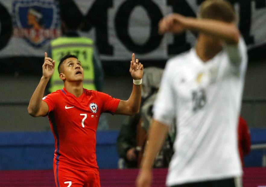 Chile y Alemania salen en busca de su clasificación