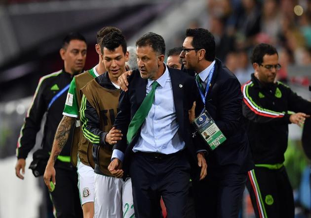 Carlos Salcedo se perderá el resto de Copa Confederaciones