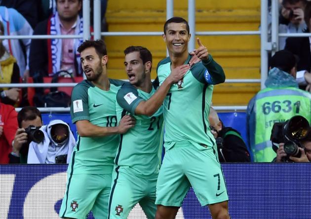 Cristiano le da un opaco triunfo a Portugal sobre Rusia