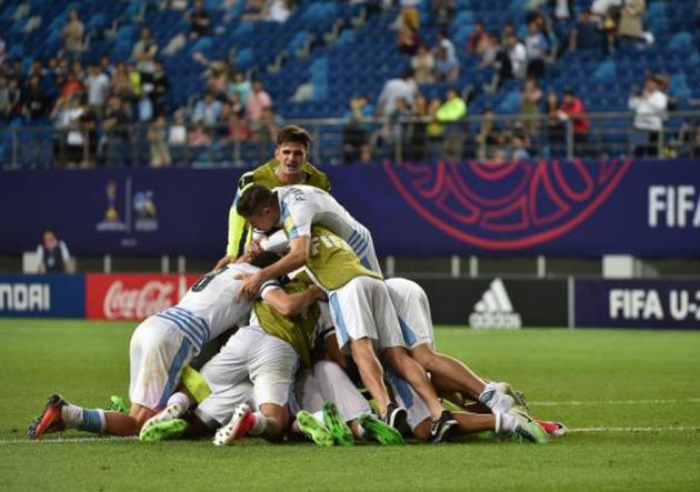 Uruguay sub-20 es semifinalista tras ganarle por penales a Portugal