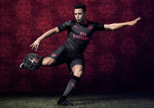 Alexis_Arsenal_tercera_camiseta_2017