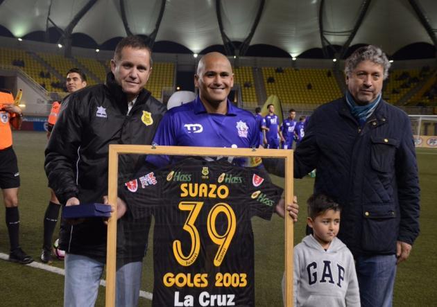 El retorno goleador que tuvo Humberto Suazo en su vuelta al profesionalismo
