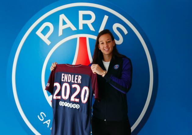 PSG presenta oficialmente a Christiane Endler