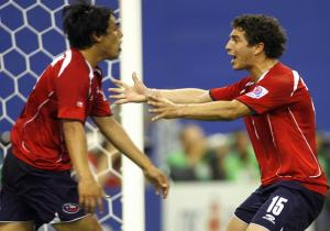 Jaime Grondona (L) and Carlos Carmona (R