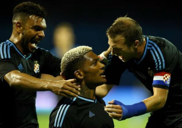 Junior Fernandes anota en triunfo del Dinamo de Zagreb — Europa League