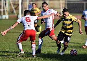 Deportes Valdivia vs Coquimbo Unido, Campeonato de Primera B 2017.