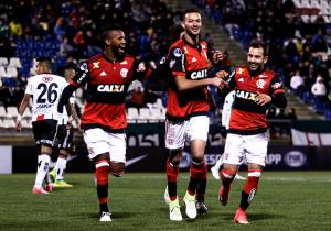 Palestino_Flamengo_celebra_Sudamericana_2017_Getty