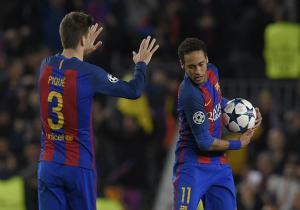 Pique_Neymar_Barcelona_Getty