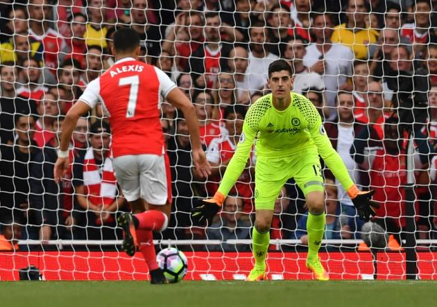 Thibaut Courtois: Preferiría que Sánchez no juegue la Community Shield