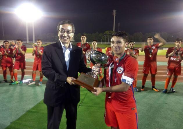 La Rojita se coronó campeona de la SBS International Cup en Japón