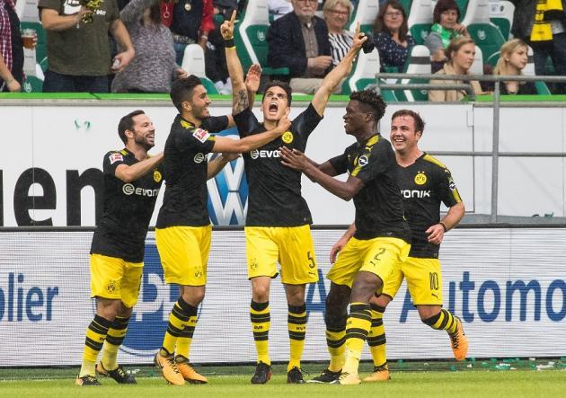Bartra anotó en goleada del Borussia Dortmund — Con dedicatoria