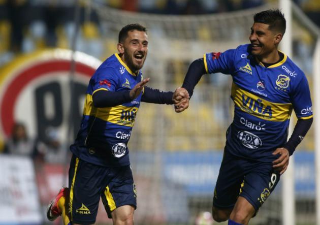 Everton golea a San Luis y lidera el torneo