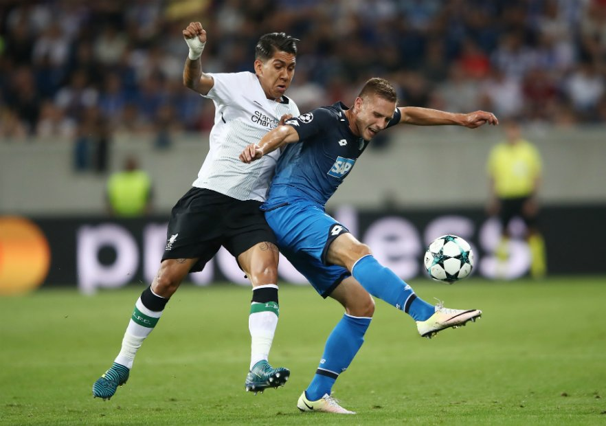 Hoffenheim_Liverpool_Firmino_2017_Getty