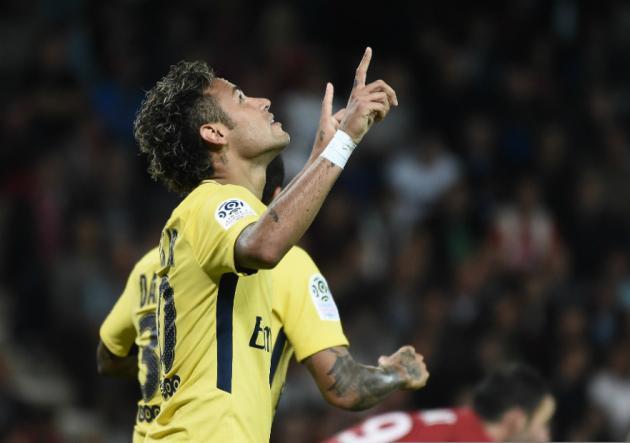 Neymar_PSG_Guingamp_2017_Getty