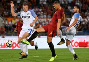 Roma_Inter_Dzeko_2017_Getty
