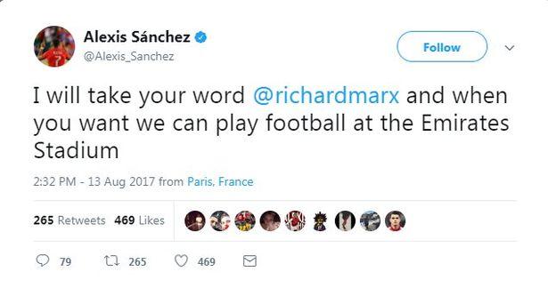Sanchez-tweet
