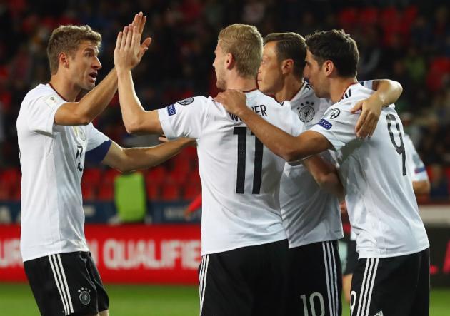 Eliminatorias Mundial Rusia 2018: Alemania derrotó a República Checa sobre el final