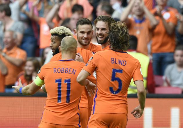 Holanda se impone a Bulgaria en eliminatorias para Mundial Rusia 2018